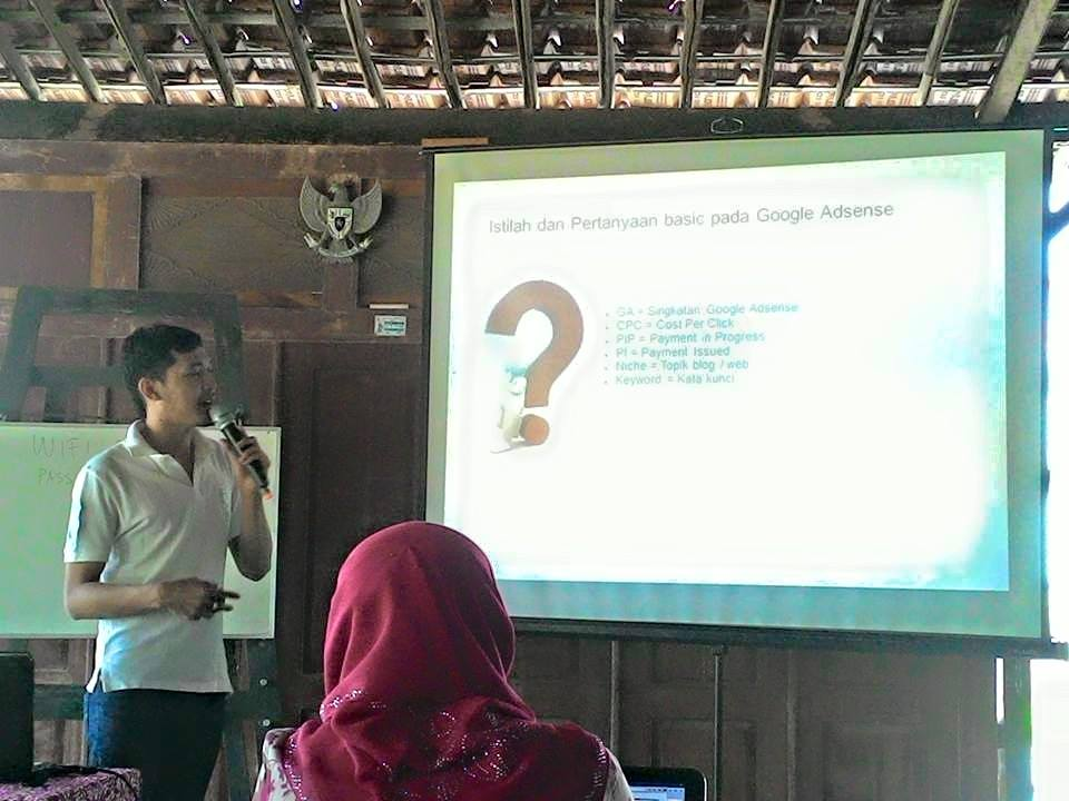 workshop google adsense jogja