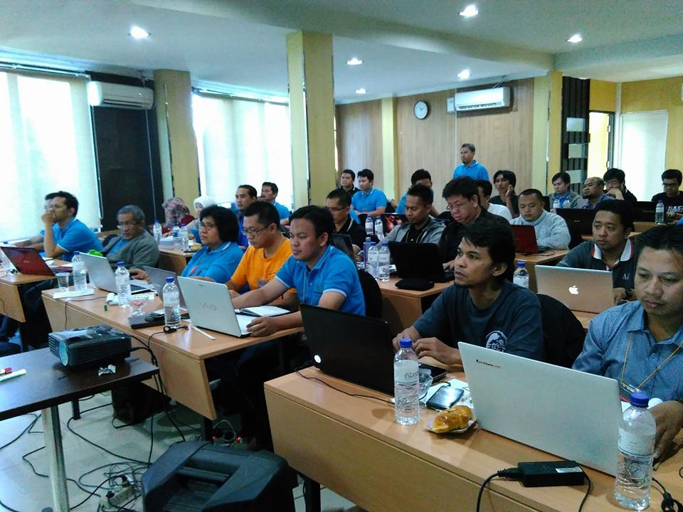 Peserta workshop google adsense